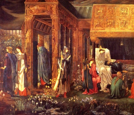 Burne-Jones2C-Edward-The-Sleep-of-Arthur-in-Avalon-detail-end